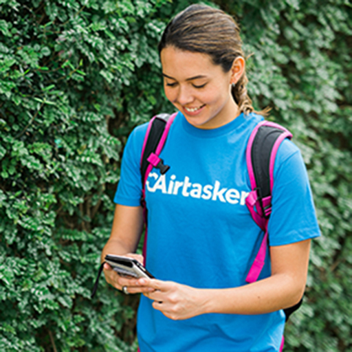 Mystery shopping agent taking photographs outside of a retail store via Airtasker market research