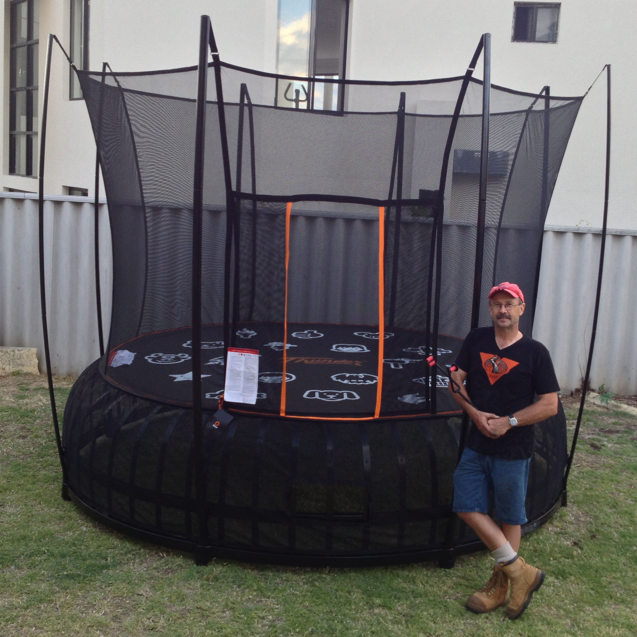 Trampoline Assembly Installation Services via Airtasker